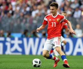 Golovin will join Monaco from CSKA Moscow. AFP