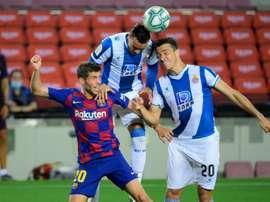El Espanyol pidió disculpas. AFP