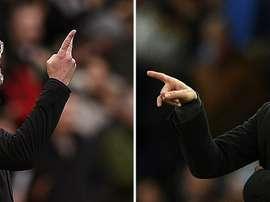 Guardiola riceve il Liverpool. AFP
