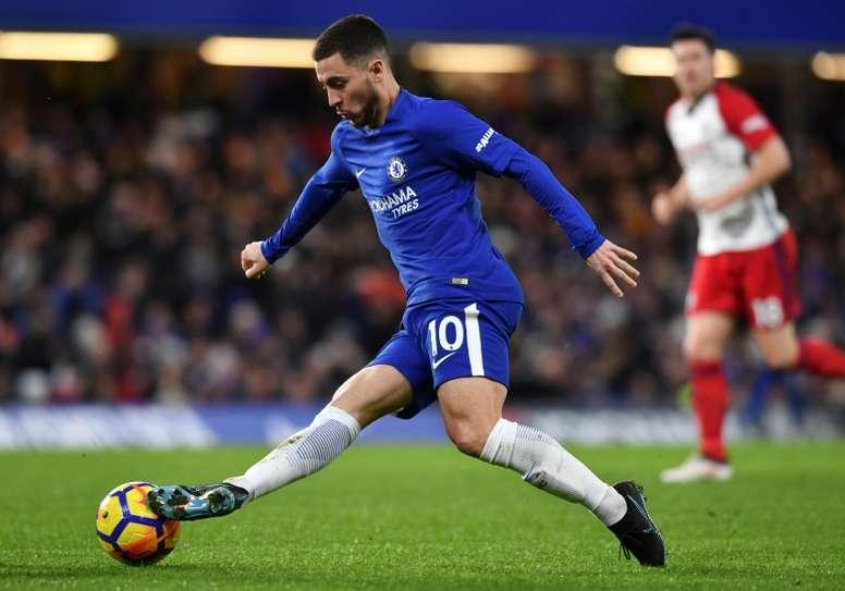 El belga cree que el Chelsea plantará cara al Barça. AFP