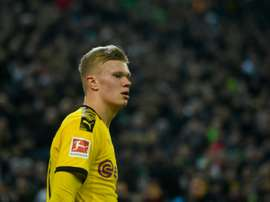 Le Borussia craint le Real Madrid pour Haaland. AFP