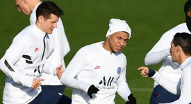 Figo hopes to see Mbappé at Madrid. AFP