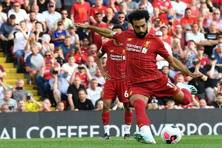 Liverpool derruba o Arsenal. AFP