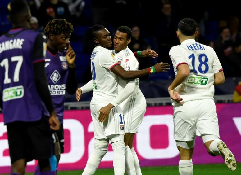 Les compos probables du match de Ligue 1 entre Lyon et Toulouse. AFP