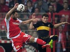 Le défenseur de Stuttgart Benjamin Pavard. AFP