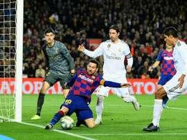 Le probabili formazioni del Clasico Barcellona-Real Madrid. AFP