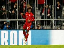 El Bayern es otro en Europa. AFP