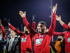 La Coupe de France pour rougir à nouveau le FC Rouen. afp