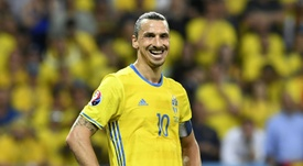 Zlatan Ibrahimovic could play in the next Euro's. AFP