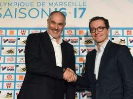 L'Olympique de Marseille aimerait compter sur les services des deux joueurs de Liga. EFE