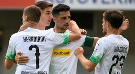 El Borussia Mönchengladbach sumó un punto. AFP