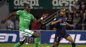 Florentin Pogba à l'essaie. AFP