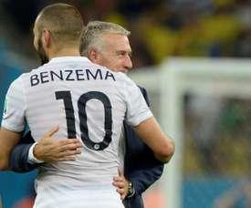 Uma missão impossível para Benzema. AFP