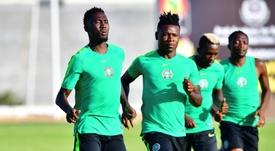 Les compos probables du match de la CAN entre le Nigeria et la Guinée. AFP