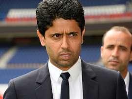 Nasser Al-Khelaifi wants better behaviour and performances next season. AFP