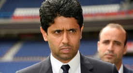 Nasser Al-Khelaifi wants better behaviour and performances next season. AFP
