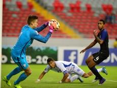 Le gardien de la sélection des moins de 20 ans américaine Jonathan Klinsmann face au Salvador. AFP