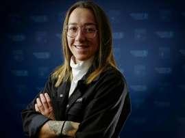 La défenseure de l'OL Lucy Bronze. AFP