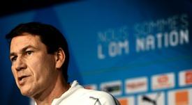 Rudi García deja el Olympique de Marsella. AFP