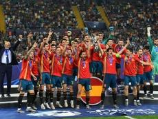 l'Espagne décroche un 5e titre. AFP