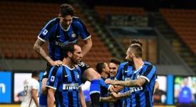 El Inter toma aire a costa del Torino. AFP