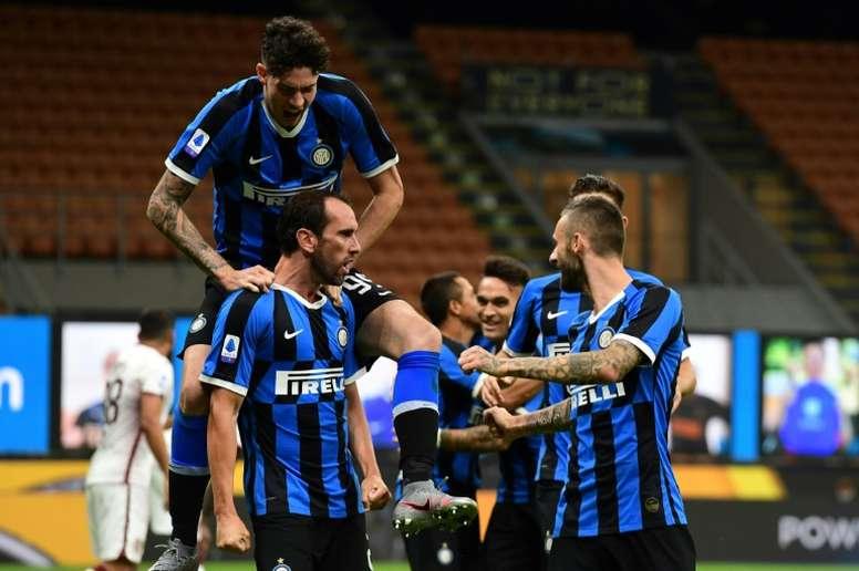 L'Inter Milan rebondit contre le Torino. AFP