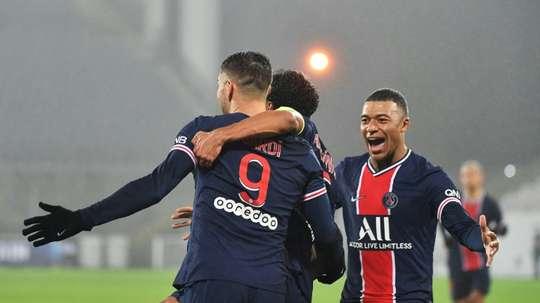 Le formazioni ufficiali di Angers-PSG. AFP