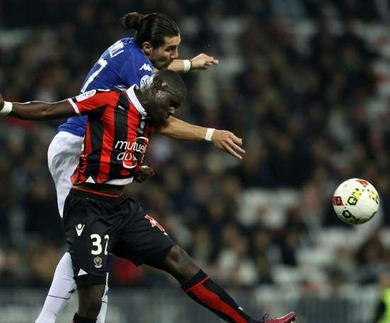 Le talent de Nice qui intéresse la Bundesliga. AFP