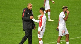 Henry has had a dreadful start ot life as Monaco manager. AFP