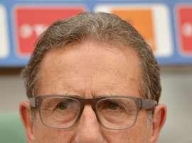 Le Belge Georges Leekens, nouveau sélectionneur de la Hongrie. AFP