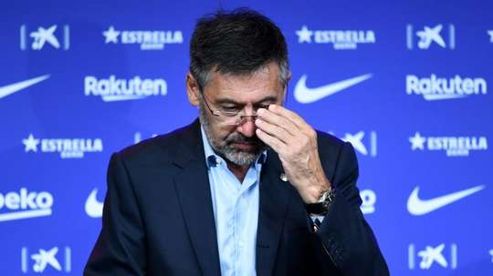 A vote of no confidence against Bartomeu will be held. AFP