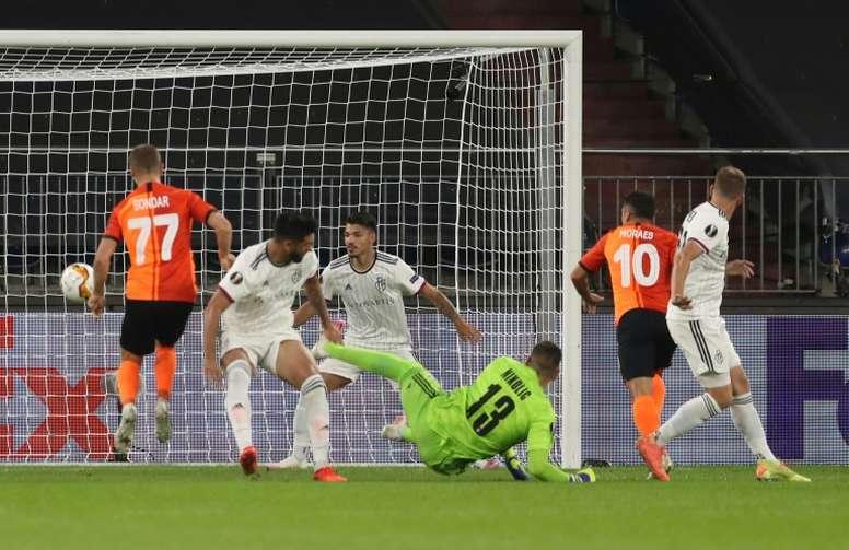 Shakhtar Donetsk won 4-1. AFP