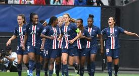 Le Paris-SG bat Bordeaux et rejoint Lyon en finale. AFP