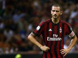 A Lazio não deu qualquer chance ao Milan e venceu por 4-1. AFP