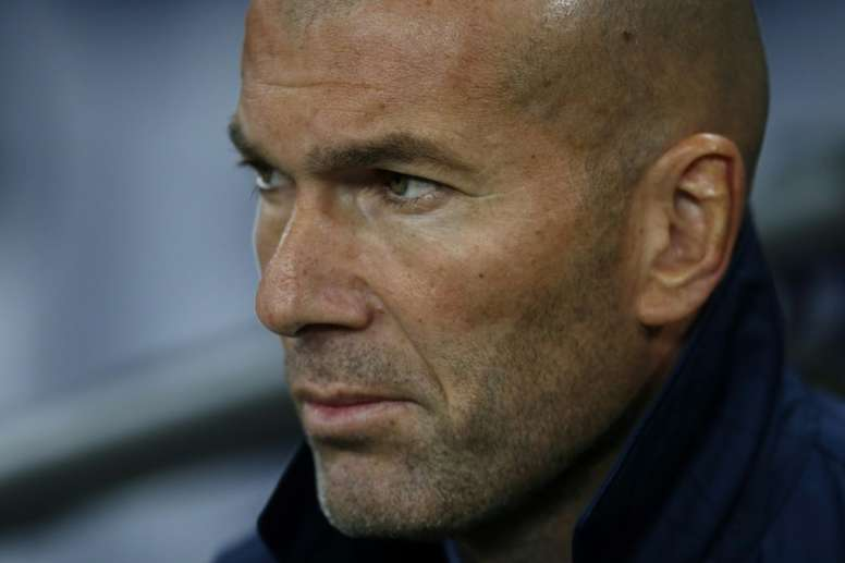 Zidane relaxed as Real Madrid get ready for PSG clash. AFP