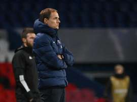 Tuchel said it was one of PSG's worst matches. AFP