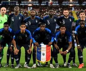 L'équipe de France Espoirs arrache la victoire. AFP