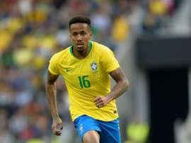 Le défenseur brésilien Eder Militao lors du match amical face au Panama.. AFP