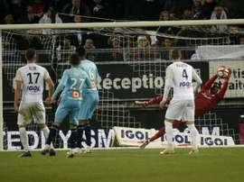 Les compos probables du match de Ligue 1 entre Marseille et Amiens. AFP