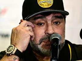 Maradona, la nazionale è un bowling. AFP