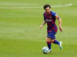 Messi, um jogador que marcou uma época. AFP