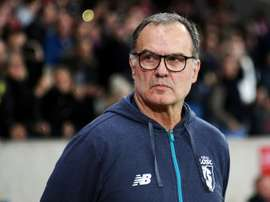 Bielsa's Lille have slipped back into the automatic relegation places in Ligue 1. AFP