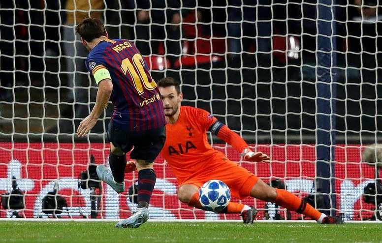 Messi es el que más goles ha marcado desde el cambio de nomenclatura. AFP