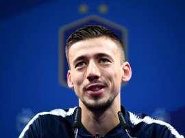 Qualifs Euro-2020: La France est une Nation respectée des ténors, estime Lenglet. AFP
