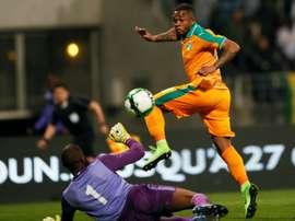 Abdou Diallo podría aterrizar en el Arsenal. AFP