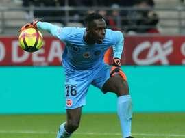 Le gardien sénégalais Edouard Mendy le 4/05/19. AFP