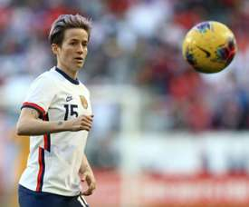 'France Football' names Rapinoe as the most influential footballer. AFP