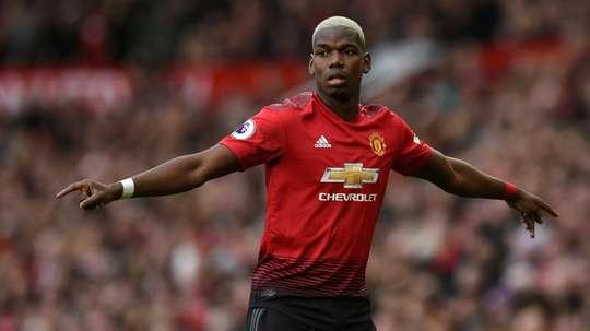 Pogba disse que os resultados foram os responsáveis pela saída de Mourinho. AFP