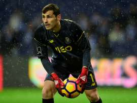 Casillas joined the Porto squad. AFP