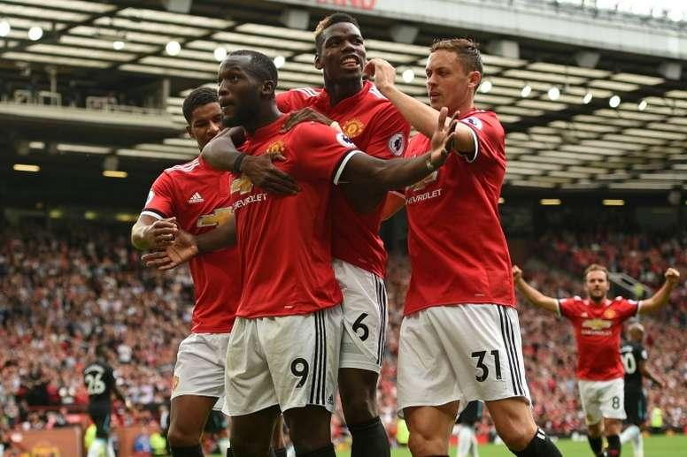Les compos probables du match de Premier League entre Manchester United et West Ham. AFP